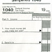 Simplified 1040 Tax Form