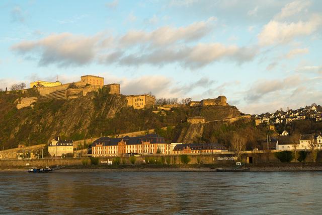 Koblenz - Festung Ehrenbreitstein