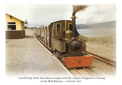 2-6-4T Lady of the Isles - Mull Railway - 11.6.1985