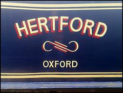 Hertford narrowboat