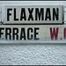 Flaxman Terrace street sign