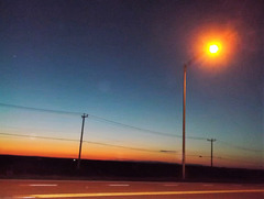 Soleil de soir / Night sun feeling.