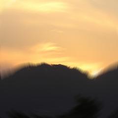 impressionist sunset