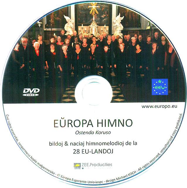 Europa Himno + naicaj himnoj en EU