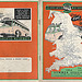 Associated Motorways Summer 1954 timetable  cover