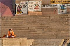 Sâdhu en méditation