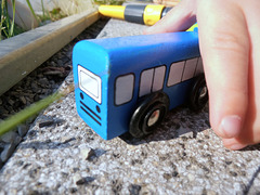 Der Bus kommt / the bus comes
