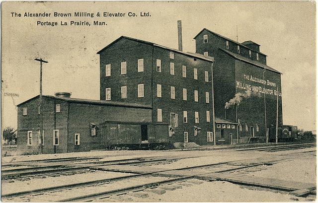 6691. The Alexander Brown Milling & Elevator Co. Ltd., Portage la Prairie, Man.