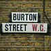 Burton Street street sign