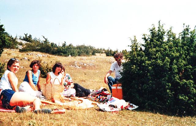 19-Sur le CAUSSE Aout 1987