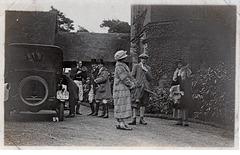 Brocksford Hall Derbyshire 29th November 1920