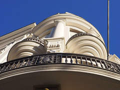 Architectural Feature in thre Morning