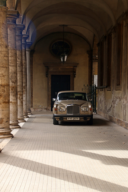 Parking at the palace