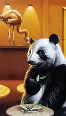 Panda Mural, Argyle Street, Glasgow