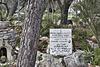 Brother Elias' Grave – El-Muraqa Monastery, Daliyat al-Karmel, Israel