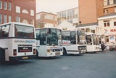 National Express Wellington Street Coach Station, Leeds - 19 Oct 1991