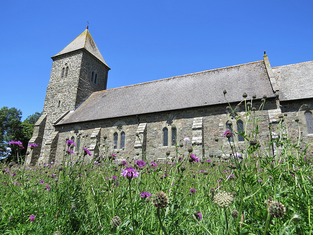 galmpton church, devon
