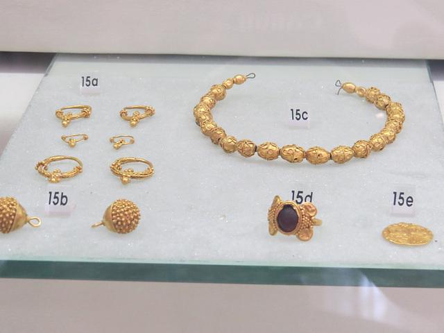 Musée archéologique de Split : trésor de Trilj.