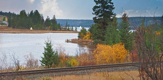 Fall at Lac La Hache, BC
