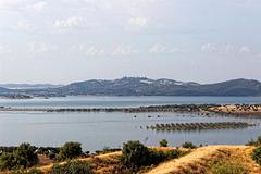 Albufeira da Barragem de Alqueva, Mourão, Portugal