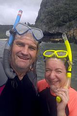 Snorkelling, Gun Beach