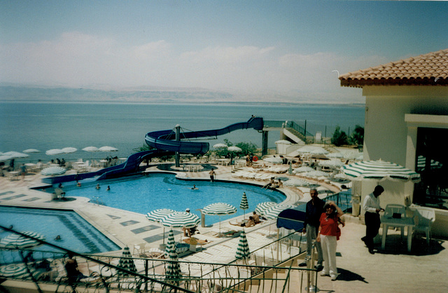 Dead Sea Spa:  43ºC; -400m of altitude.