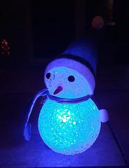 Der kleine Schneemann ...