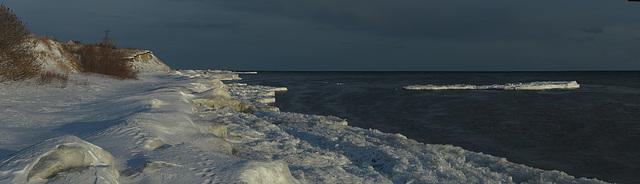 Latitude of Tuscany: White Beach at Lake Ontario: Clarington, ON, Canada
