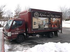 Camion WL interiors avec buffet froid intérieur