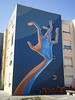 Hand mural, by Utopia.