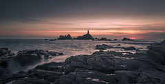 Corbiere Lighthouse Sunset