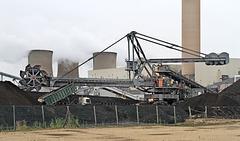Loading coal