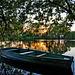 Самотній човник і надвечір'я / Lonely boat & sunset
