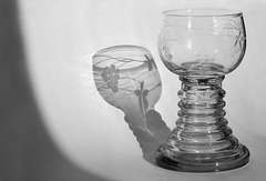 Licht Schatten Glas