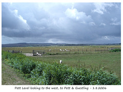 Pett Level - a view to the west - East Sussex  - 1 8 2006