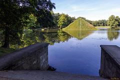 Die Seepyramide im Park von Schloss Branitz (PiP: making of)