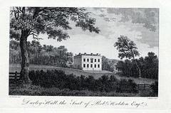 Darley Hall, Darley Abbey, Derby, Derbyshire (Demolished)