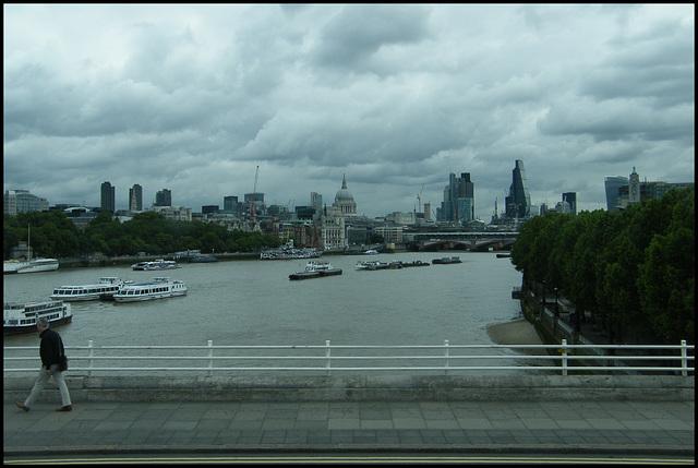grim view down the Thames