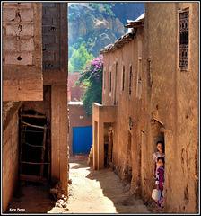 """Village berbère"" - Vallée de l'Ourika - MAROC"