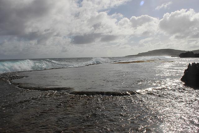 Water Flowing In