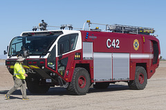 US Navy Oshkosh Striker ARFF C42