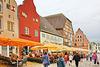 Wismar, am Hafen