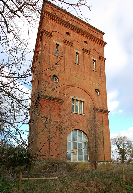 Benacre Hall Water Tower, Benacre, Suffolk