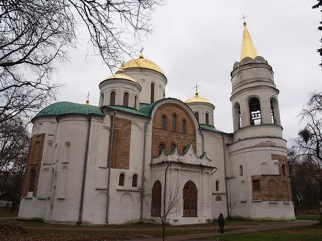 Чернигов, Спасо-Преображенский собор XI ст / Chernigov, Savior Transfiguration Cathedral XI century