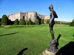 Chirk Castle.  Lucchesi Bronze Nymph