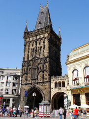 Prag, Pulverturm / Prague, Powder Tower