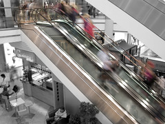 Rolltreppe - fast track