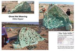 Ghost Net Weaving - Kittie Kipper - community artwork