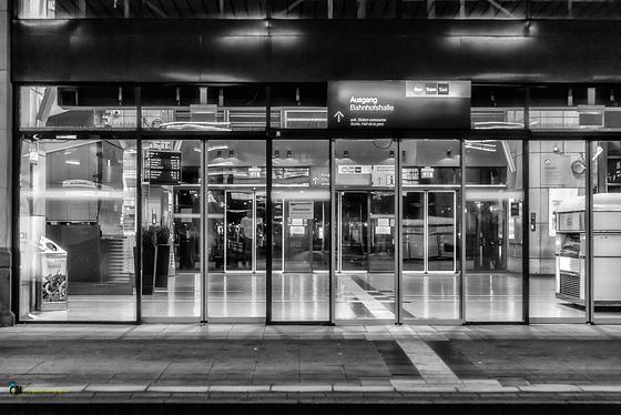 Train Station Night