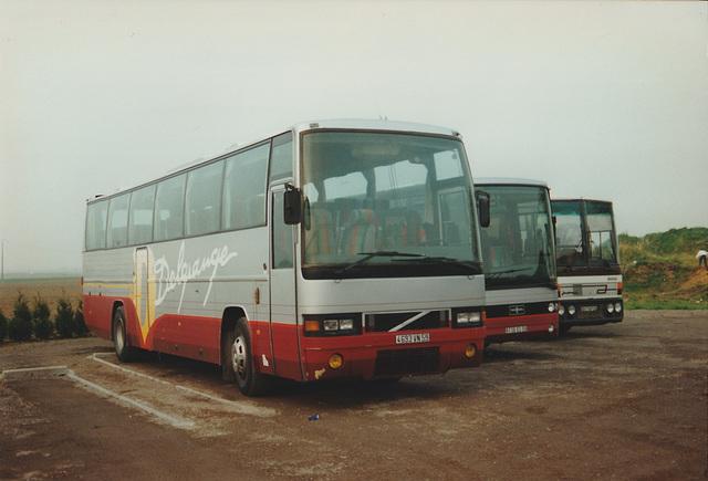 Cars Delgrange line-up at Oost-Cappel -  17 Mar 1997